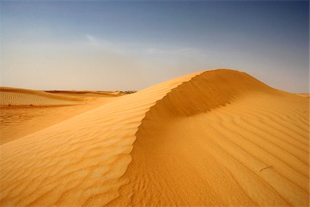 dry - Sand Dune and Sky, Dubai, United Arab Emirates Stock Photo - Premium Royalty-Free, Code: 600-06752412