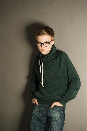 Portrait of Boy, Studio Shot Stock Photo - Premium Royalty-Free, Code: 600-06752464