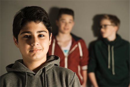 Portrait of Teenage Boys, Studio Shot Stock Photo - Premium Royalty-Free, Code: 600-06752475
