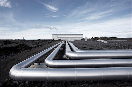 Reykjanesvirkjun Geothermal Power Plant, Reykjanes, Iceland Stock Photo - Premium Royalty-Free, Code: 600-06752536
