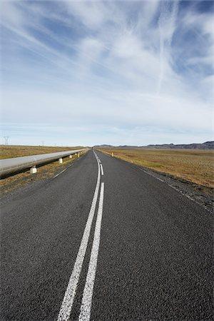 Nesjavallaleid and Pipeline in Autumn, Iceland Stock Photo - Premium Royalty-Free, Code: 600-06752567