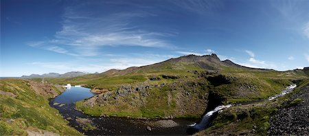 Reservoir for Hydro Power Plant, Snaefellsnes Peninsula, Vesturland, Iceland Stock Photo - Premium Royalty-Free, Code: 600-06752571
