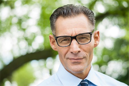 Portrait of Businessman Outdoors, Mannheim, Baden-Wurttemberg, Germany Stock Photo - Premium Royalty-Free, Code: 600-06773346