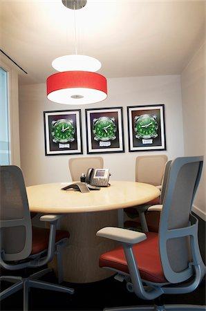 Empty Board Room in Office, Toronto, Ontario, Canada Stock Photo - Premium Royalty-Free, Code: 600-06808929
