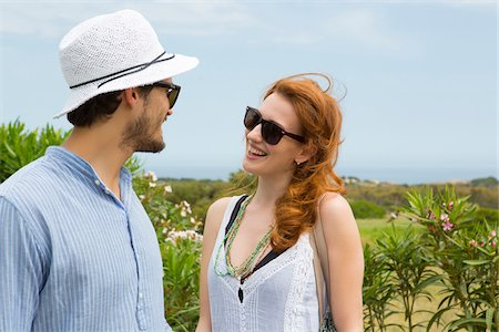 Couple Outdoors in Summer, Sardinia, Italy Stock Photo - Premium Royalty-Free, Code: 600-06826326