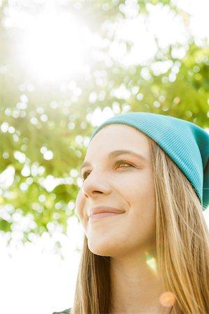 Portrait of Teenage Girl, Feudenheim, Mannheim, Baden-Wurttemberg, Germany Stock Photo - Premium Royalty-Free, Code: 600-06894851