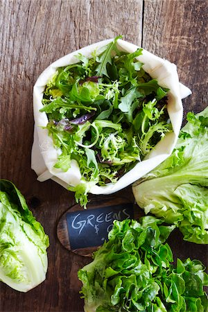 Farmer's Market Greens for Sale, Toronto, Ontario, Canada Stock Photo - Premium Royalty-Free, Code: 600-06935003