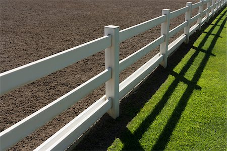 equestrian - Horse Fence, Stanford Equestrian Center, Stanford, California, USA Stock Photo - Premium Royalty-Free, Code: 600-06961891