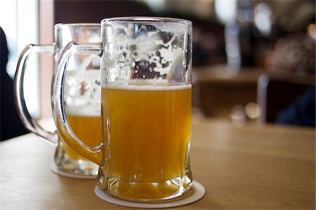 Mugs of Beer, Potsdam, Germany Stock Photo - Premium Royalty-Free, Code: 600-07110641