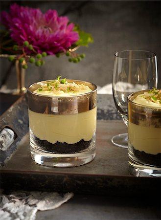 dessert - Margarita pudding in glasses on tray, Mexican Fiesta, studio shot Stock Photo - Premium Royalty-Free, Code: 600-07156157