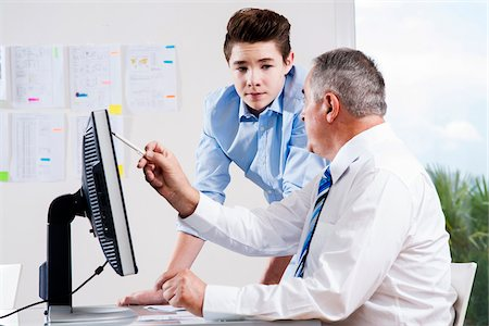 Business People in Office, Mannheim, Baden-Wurttemberg, Germany Stock Photo - Premium Royalty-Free, Code: 600-07199428