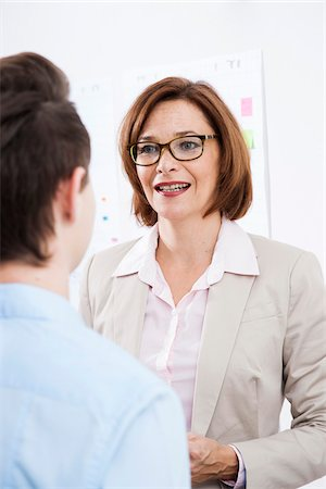 Business People in Office, Mannheim, Baden-Wurttemberg, Germany Stock Photo - Premium Royalty-Free, Code: 600-07199423