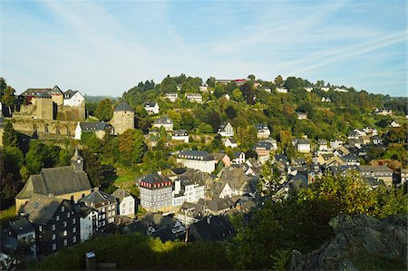 Old Town of Monschau, North Rhine-Westphalia, Germany Stock Photo - Premium Royalty-Free, Code: 600-07199457