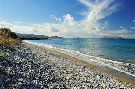 Soroni beach, Rhodes, Dodecanese, Aegean See, Greece, Europe Stock Photo - Premium Royalty-Free, Code: 600-07200031