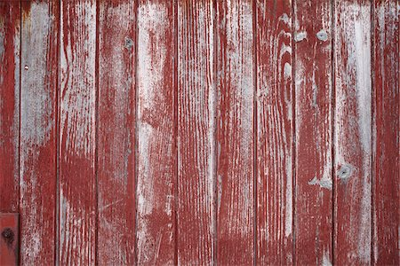 european - Peeling Red Paint on Wooden Wall, Saint-Jean-de-Luz, France Stock Photo - Premium Royalty-Free, Code: 600-07279395