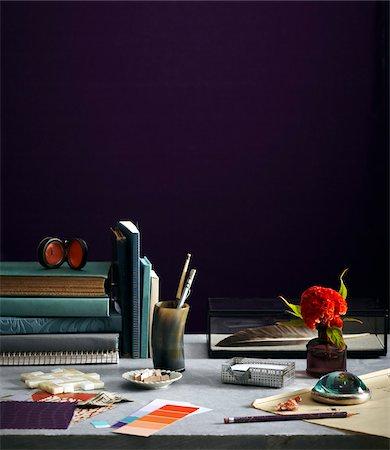 designer - Designer's Desk Stock Photo - Premium Royalty-Free, Code: 600-07311259