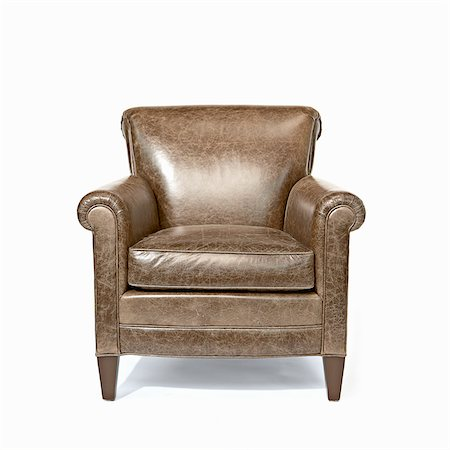 Modern Traditional Armchair, Studio Shot Stock Photo - Premium Royalty-Free, Code: 600-07311370