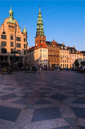 picture - Amagertorv, Stroget, Copenhagen, Denmark Stock Photo - Premium Royalty-Free, Code: 600-07431140