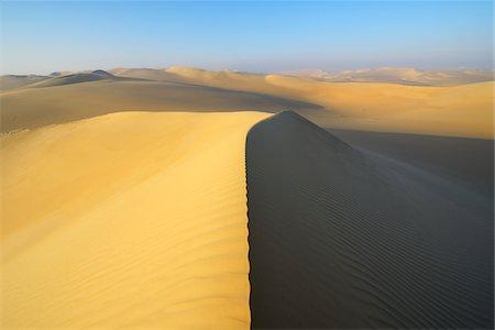 Scenic view of Sand Dunes, Matruh, Great Sand Sea, Libyan Desert, Sahara Desert, Egypt, North Africa, Africa Stock Photo - Premium Royalty-Free, Code: 600-07431214
