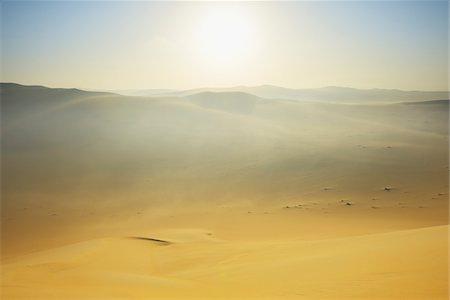 Sun over Sand Dunes with Morning Mist, Matruh, Great Sand Sea, Libyan Desert, Sahara Desert, Egypt, North Africa, Africa Stock Photo - Premium Royalty-Free, Code: 600-07431212
