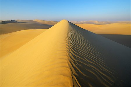 Scenic view of Sand Dunes, Matruh, Great Sand Sea, Libyan Desert, Sahara Desert, Egypt, North Africa, Africa Stock Photo - Premium Royalty-Free, Code: 600-07431213