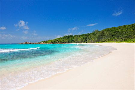 Anse Cocos Beach, La Digue, Seychelles Stock Photo - Premium Royalty-Free, Code: 600-07453839