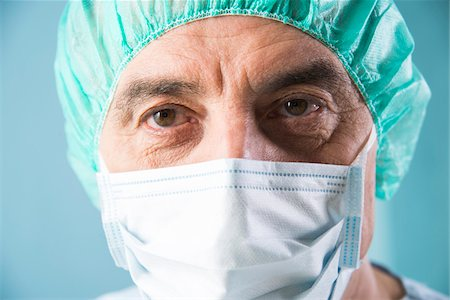 Close-up of Surgeon Stock Photo - Premium Royalty-Free, Code: 600-07487608