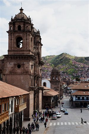 Street Scene, Cuzco, Peru Stock Photo - Premium Royalty-Free, Code: 600-07529053