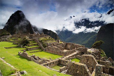 Machu Picchu, Urubamba Province, Cusco Region, Peru Stock Photo - Premium Royalty-Free, Code: 600-07529077