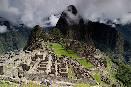 Machu Picchu, Urubamba Province, Cusco Region, Peru Stock Photo - Premium Royalty-Free, Code: 600-07529078