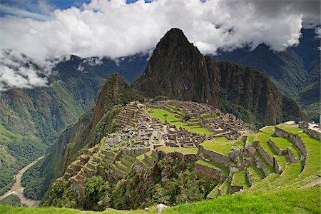 Machu Picchu, Urubamba Province, Cusco Region, Peru Stock Photo - Premium Royalty-Free, Code: 600-07529079