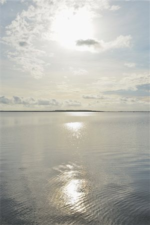 shimmering - Baltic Sea in Summer with Sun, Vitte, Baltic Island of Hiddensee, Baltic Sea, Western Pomerania, Germany Stock Photo - Premium Royalty-Free, Code: 600-07599927