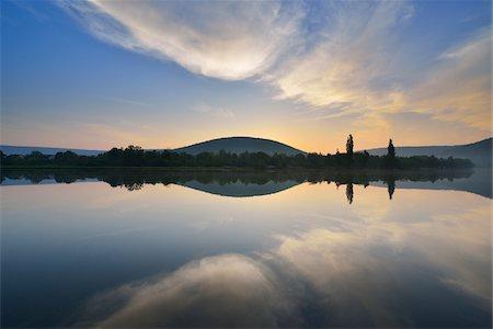River Main in the Dawn, Spring, Bestenheid, Wertheim, Spessart, Mainfranken, Franconia, Baden Wurttemberg, Germany Stock Photo - Premium Royalty-Free, Code: 600-07599967
