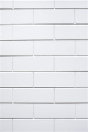 Close-up of a white, clinker brick wall, Germany Stock Photo - Premium Royalty-Free, Code: 600-07600018