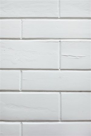 painted - Close-up of a white, clinker brick wall, Germany Stock Photo - Premium Royalty-Free, Code: 600-07600019