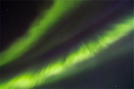 sky stars - Northern Lights (Aurora Borealis) illumintaing Night Sky, Pyha-Luosto National Park, Lapland, Finland Stock Photo - Premium Royalty-Free, Code: 600-07636907