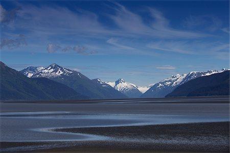 Cook Inlet near Portage, Alaska, USA. Stock Photo - Premium Royalty-Free, Code: 600-07672280