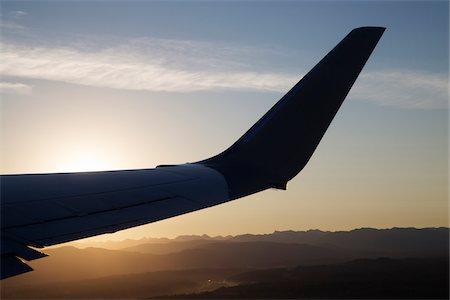 View of Plane Wing at Takeoff, Western Washington State, USA Stock Photo - Premium Royalty-Free, Code: 600-07760281