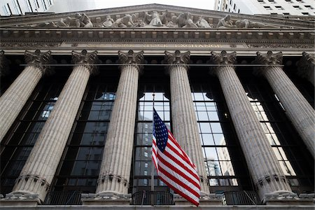 finance - New York Stock Exchange, New York City, New York, USA Stock Photo - Premium Royalty-Free, Code: 600-07760318