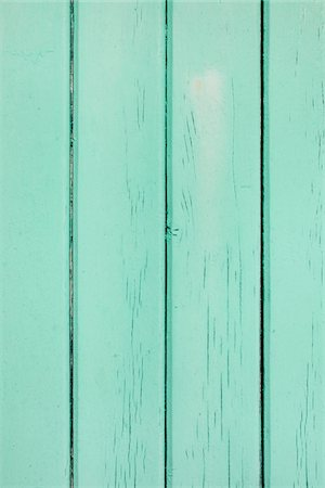 painted - Close-up of turquoise, painted, wooden wall, France Stock Photo - Premium Royalty-Free, Code: 600-07844404