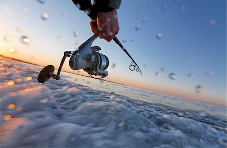 fishing - Fishing along Coast of Rhode Island, USA Stock Photo - Premium Royalty-Free, Code: 600-07965833