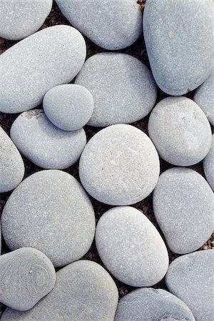 Close-up of Smooth Round Stones, Biarritz, Aquitaine, France Stock Photo - Premium Royalty-Free, Code: 600-07966220