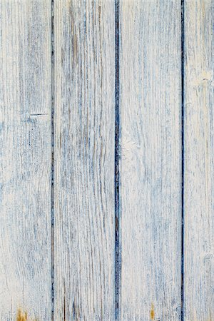Close-up of Blue and White Painted Wooden Wall, Biscarrosse, Aquitaine, France Stock Photo - Premium Royalty-Free, Code: 600-08122302