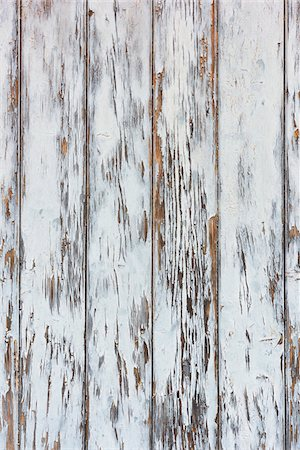 Close-up of weathered, whitewashed barn boards, Odenwald, Hesse, Germany Stock Photo - Premium Royalty-Free, Code: 600-08145815