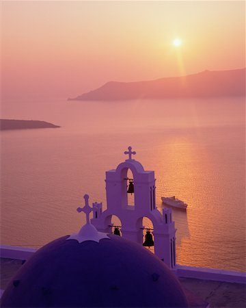 simsearch:600-00052306,k - Sunset Santorini, Greece Stock Photo - Premium Royalty-Free, Code: 600-00007985