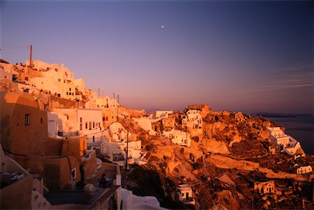 simsearch:600-00052306,k - People Gathering for Sunset Santorini, Greece Stock Photo - Premium Royalty-Free, Code: 600-00009581