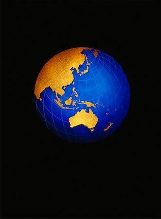Globe Pacific Rim Stock Photo - Premium Royalty-Free, Code: 600-00013021