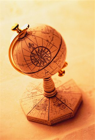 Antique Globe Stock Photo - Premium Royalty-Free, Code: 600-00035597