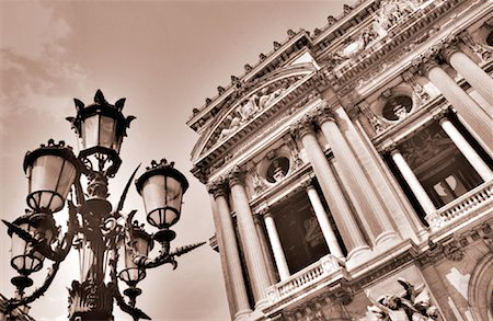 simsearch:600-02428966,k - Paris Opera House Paris, France Stock Photo - Premium Royalty-Free, Code: 600-00031842