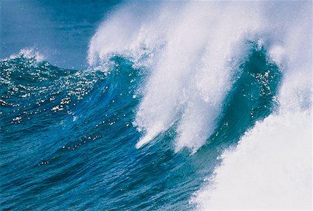 Waves, North Shore, Oahu, Hawaii, USA Stock Photo - Premium Royalty-Free, Code: 600-00041604